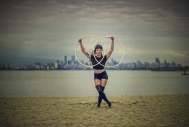 Renée Mak - Hula Hoop Performer Vancouver, British Columbia