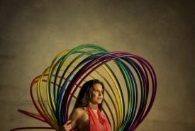 Corean Gonzales - Hula Hoop Performer Austin, Texas