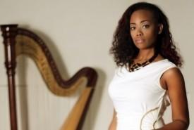 Lyrika Holmes - Harpist Atlanta, Georgia