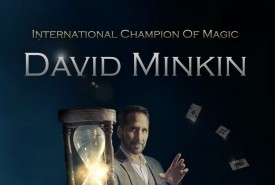 David Minkin - International Champion Of Magic - Close-up Magician