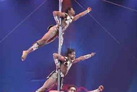 Serengeti Warriors - Aerialist / Acrobat Leeds, Midlands