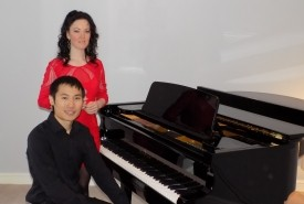 Shauna and Ray. Piano Duo Newcastle - Duo