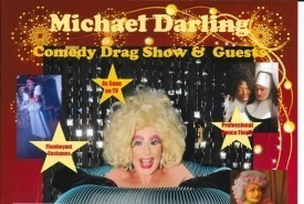 Michael Darling  - Drag Queen Act Glasgow, Scotland