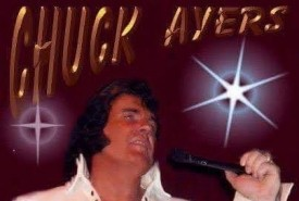 Chuck Ayers Charlotte's voice of Elvis and dj services - Elvis Impersonator