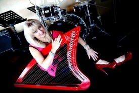Shirley Dominguez International Harpist Headliner Entertainer - Harpist Miami, Florida