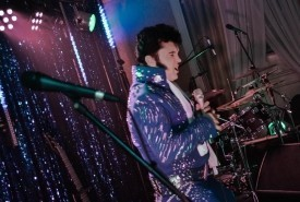 Damian Grzegorczyk - Elvis Impersonator Botany Bay, London