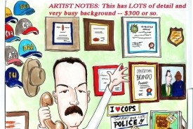 Caricature Artist Dennis Porter - Caricaturist Dayton, Ohio