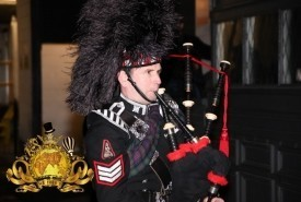 Cliff Hall - Bagpiper Twickenham, London