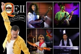 QEII - A Live Tribute to Freddie Mercury & Queen - Queen Tribute Band UK, Midlands