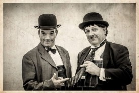 Laurel & Hardy Lookalikes with magic - Laurel & Hardy Lookalikes