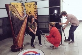 Rachel Horton Kitchlew - Harpist