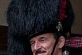 Pipe Major David Waterton-Anderson, KSG, KMM, OLJ, OMLJ. - Bagpiper Selby, Yorkshire and the Humber