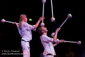 Jugglers Viktor and Viktoriya - Juggler 10115, Germany