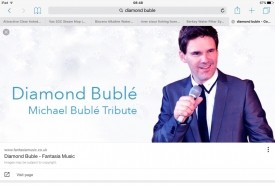 Olly g or diamond buble - Michael Buble Tribute Act Bournemouth, South West