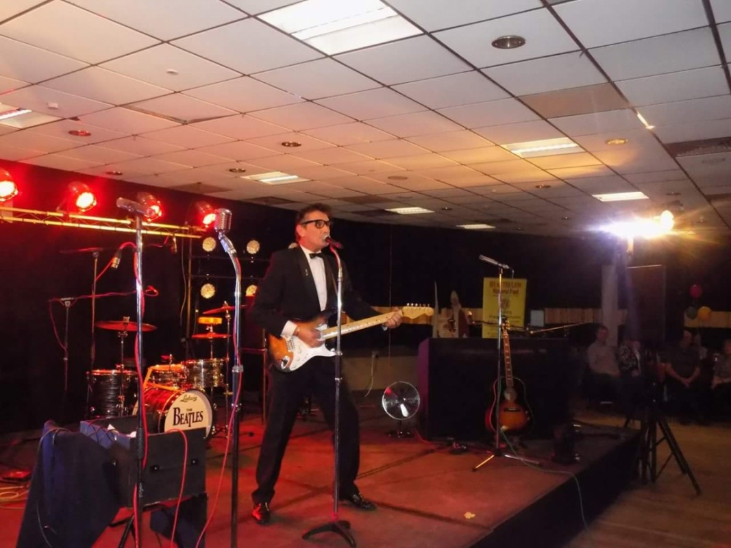 Buddy Holly Tribute Act Wales Dave Wickenden