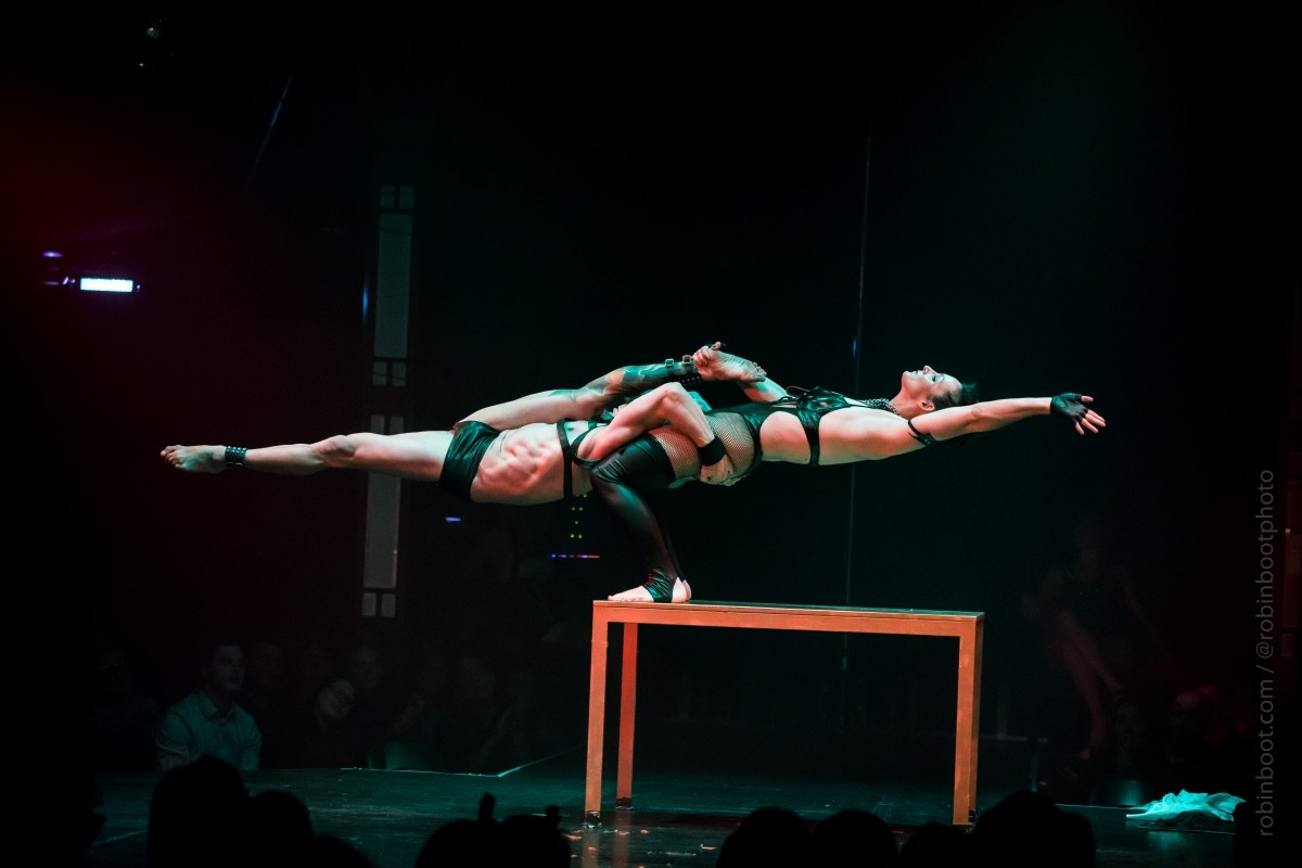 Aerialist Acrobat London Circus Girl Entertainers