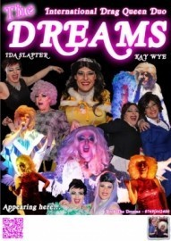 The Dreams' International Drag Queens Duo - Kay Wye & Ida Slapter - Drag Queen Act - Doncaster, North of England