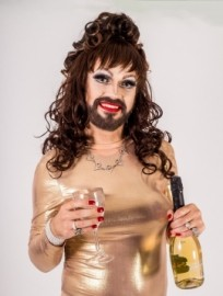 Miss Charlie Williams  - Drag Queen Act - Liverpool, North of England