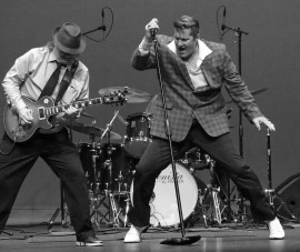 Jim Anderson & the Rebels - Elvis Impersonator - Manteca, California