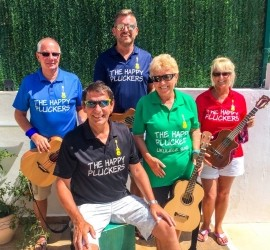 The Happy Pluckers - Other Instrumentalist - Mojacar, Spain