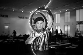 Isolation Magic act - Cabaret Magician - Auckland