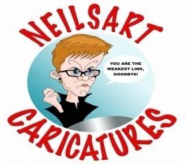 Neil thomson - Caricaturist - Glasgow, Scotland
