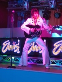 Mike Memphis as Elvis - Elvis Tribute Act - Northumberland, North of England