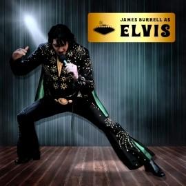 James Burrell as Elvis Presley - Elvis Impersonator - Exeter, South West