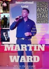 Martin Ward - Male Singer - Manchester, North West England