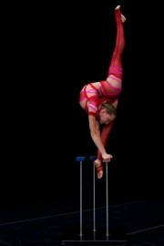 Irina Naumenko - Hand Balancer and Contortionist - Acrobalance / Adagio / Hand to Hand Act - Montreal, Quebec