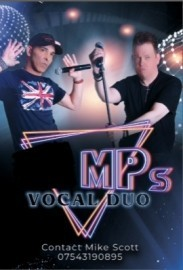 THE MPS vocal duo - Male Singer - Manchester, North West England