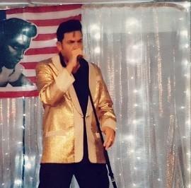 Ivan brady Rockin Rebel - Elvis Tribute Act - Great Yarmouth, East of England