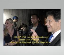 The Magic of Joe Ferranti - Close-up Magician - Boston, Massachusetts