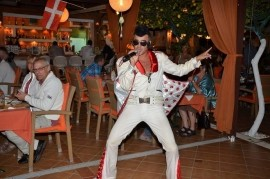 Multi tribute singing show-Jimmy Bellagio - Michael Jackson Tribute Act - Chania Crete Greece, Greece