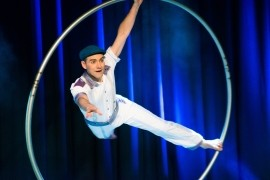 Pascal Haering - Cyr Wheel Act - Bristol, South West