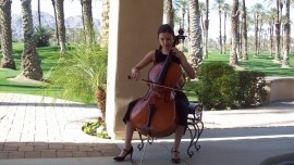 Cello Girl and One Man Band image