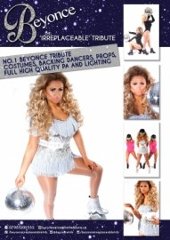 BEYONCE - THE IRREPLACEABLE TRIBUTE - Beyonce Tribute Act - ESSEX, South East