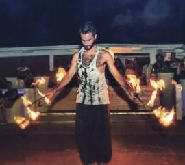 Justin  - Fire Performer - London, East of England
