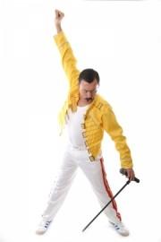 Ian Adams as Freddie Mercury - Freddie Mercury Tribute Act - Chorley, North West England