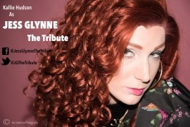 Kallie hudson as Jess Glynne  - Tribute Act Group - South West