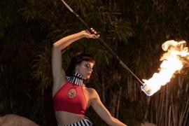 Chelsea Sphere - Fire Performer - Palm Springs, California