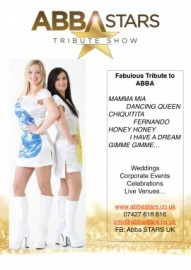 Abba STARS Fabulous Tribute show to ABBA image