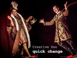 Creative Duo Ina and Kristaps - Quick Change Act - LV, Latvia