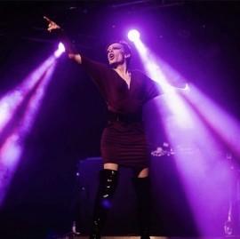 Miss Crystal P Enigma  - Drag Queen Act - Jarrow, North East England