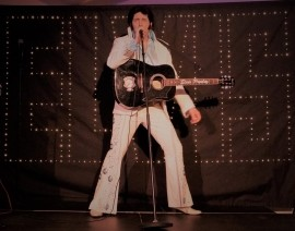 James Burrell as Elvis Presley - Elvis Impersonator - Exeter, South West