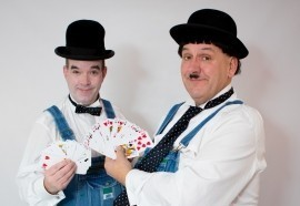 Laurel & Hardy Lookalikes Magicians - Lookalike - Liverpool, North of England