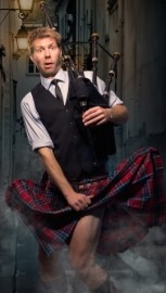 The Danish Bagpipe Comedian image