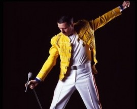 Dean Richardson as Freddie Mercury - Freddie Mercury Tribute Act - Blackpool, North West England