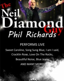 Phil Richards (Neil Diamond tribute) - Neil Diamond Tribute Act - New York, East Midlands