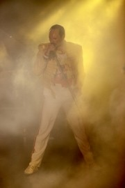 Joseph Lee Jackson as A Vision of Mercury - Freddie Mercury Tribute Act - Midlands